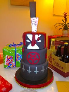 Most Heavy Metal Birthday Cake