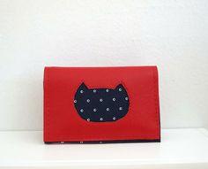 Cat Face wallet! https://www.etsy.com/shop/trelabela