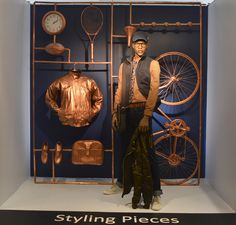 Styling Pieces.  Visual Merchandising Arts, School of Fashion at Seneca College.