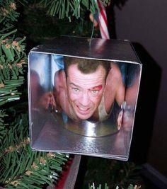 Yippe Ki-Yay Christmas! Die Hard Tree Ornament