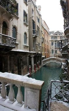 Winter.. Venice, Italy | Flickr - Photo by mesebar2