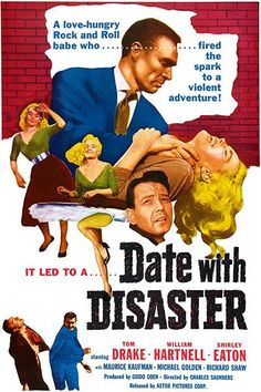 Date With Disaster - 1957 - Movie Poster