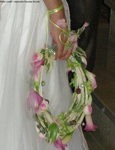 Floral Hoop -- Great for bride, attendants, flower girls, etc