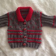 Winter Warm Baby jacket Knitting pattern by Seasonknits Christmas Knitting Patterns, Baby Knitting Patterns, Baby Scarf, Universal Yarn, Crochet Fall, Lang Yarns, Paintbox Yarn, Baby Warmer, Red Heart Yarn
