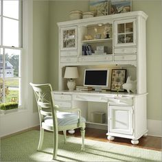 Photo of Coastal Living by Stanley Furniture Coastal Living Computer File Desk With Hutch (Office Furniture, Desks)