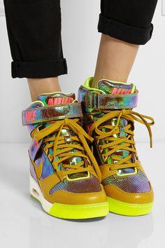 NIKE Air Revolution Sky Hi leather high-top sneakers Nike Sneakers dbb7394b5