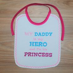 Embroidered Cupcake Des Personalised 1st Birthday Bib Boys Baby Clothes Girls