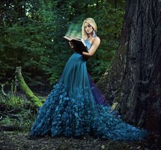 Blue Wedding Dresses, Blue Dresses, Prom Dresses, Fairytale Fashion, Fairytale Dress, Pretty Outfits, Pretty Dresses, Beautiful Dresses, The Dress