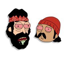 Rick and Morty x Cheech & Chong