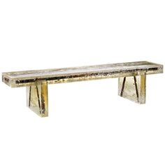 'Souvenir of the last Century 02' | From a unique collection of antique and modern benches at http://www.1stdibs.com/furniture/seating/benches/
