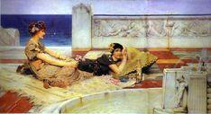 Princesa Nadie: El mar de Alma Tadema