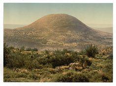Гора Фавор. Фото конца XIX века.