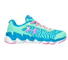 GIRLS UNDER ARMOUR SPINE DISRUPT RUNNING SHOES YOUTH SIZE 1 New No Box