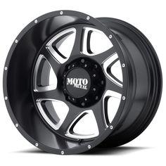 Moto Metal Offroad Wheels MO976 Satin Black Milled