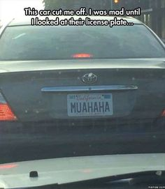 Now that´s an evil numberplate.....