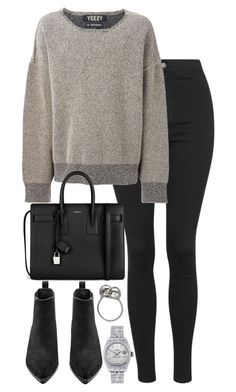 """""""Untitled #2621"""" by elenaday ❤ liked on Polyvore featuring Topshop, adidas Originals, Yves Saint Laurent, Acne Studios, Rolex and Alexander McQueen"""