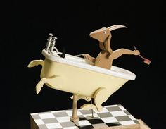 Goat in the Bath  Paul Spooner.