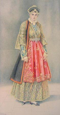 #37a - Urban Costume (Epirus, Metsovo)