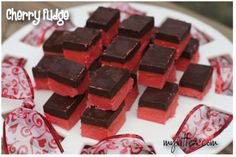 Cherry Fudge -perfect Valentine stuff