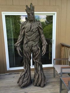 You Can DIY This Crazy Costume for Under $100 via Brit + Co. I AM GROOT!