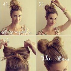 Hair bow... Literally.