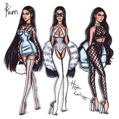 #KimKardashianWest x3 by Hayden Williams. Which Kim design do you think is the best?