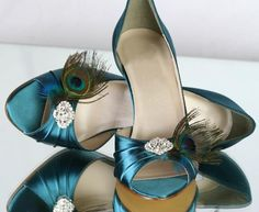 Peacock shoes? Me gusta :)