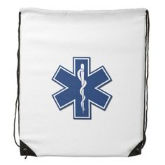 EMS Star of Life Cinch Bags