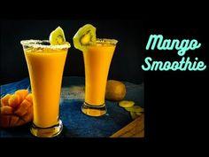 3 Step Mango Smoothie || - YouTube Smoothie, The Creator, Mango, Frozen, Tableware, Youtube, Manga, Dinnerware, Tablewares