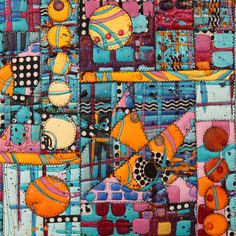 Combining painting and quilting brings out the best in both with this fantastic class from Katie Pasquini Masopust.