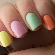 Delicious candy colours from Orly.