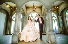 Chụp hình cưới phim trường Lamou'r - Lucky Anh Và Em