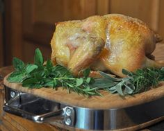 Fast Roast Chicken, how to roast a chicken in an hour. Crispy salty skin, perfectly roasted meat. Recipe, tips, WW points at Kitchen Parade.