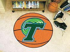 "Tulane University Basketball Mat 27"""" diameter"