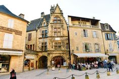 The Old Historic French Town Of Sarlat | Hand Luggage Only | Bloglovin'