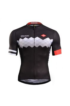 2015 Pro Plus Mens Best Cycling Jersey Stranger Black