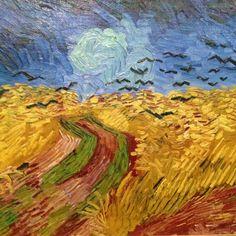 Wheatfield with Crows Auvers-sur-Oise, July 1890 Vincent van Gogh (1853 - 1890)- detail