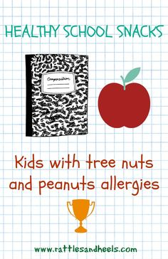Healthy School Snacks for kids with peanut and tree nuts allergies School Snacks For Kids, Healthy School Snacks, Tree Nut Allergy, Peanut Allergy, Food Allergy Blood Test, Peanut Free Snacks, Nut Allergies, Valentines For Kids, Tree Nuts