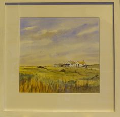 "Chris Noel Francis kindly donated his painting ""Shingle Street"" for the raffle prize at the 67th Orwell Art Club Annual Exhibition."
