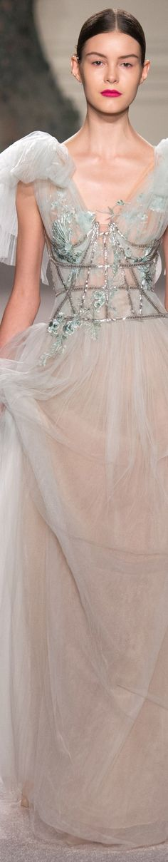 Marchesa Spring 2016 | House of Beccaria~