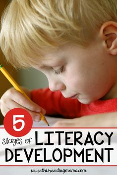 5 Stages of Literacy Development - This Reading Mama