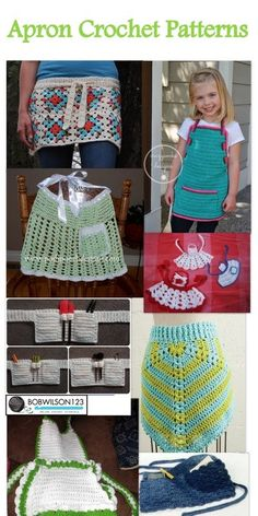 Posh Pooch Designs Dog Clothes: Tuesday's Treasury - Apron Crochet Patterns