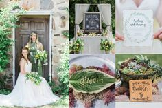 We've gathered up some of our most favorite green wedding ideas to share with you!