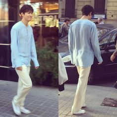 2016.09.17 LMH shooting for Legend of The Blue Sea in Spain…