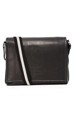 BALLY Teapolt Messenger Bag. #bally #bags #shoulder bags #leather #