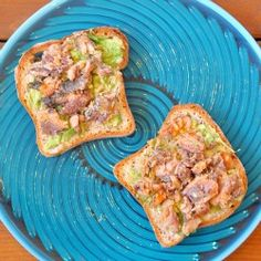 Healthy fast food- Avocado Sardine Sandwich (on gluten-free bread) inspired by Alton Brown.