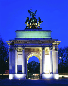 The Wellington Arch, London, England.