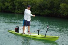 And for those who like to sneak up on fish in the shallows, the SUP is becoming a promising new platform. SUP boards combine the quiet of a kayak with the see-into-the-water elevation of an angler standing in a flats boat.