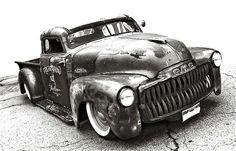 rat rod trucks and cars Chevy Trucks, Pickup Trucks, Dually Trucks, Truck Drivers, Chevy Pickups, Semi Trucks, Bagged Trucks, Chevy Stepside, Diesel Trucks