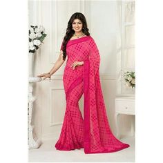 Saiveera New Ayesha Elegant Designer Floral Printed Daily Wear Georgette Pink Saree/Sari Saiveera Fashion Is a Best Manufacturer,Exporter,Wholesaler, As well as Best and dealer,Retailar Of Designer,Embroidery Wedding Sari,Kids Lahenga Choli,Salwar Suit,Dress Material,etc.in surat Textile Market. Also Mainly Focus On Style,Choice,Fabric. So Saiveera Fashion Also Made Designer, Printed, Cotton,Fancy,Kurtis,Saree,Embroidery ,Wedding, Partywear,For More Query Please Call Or Whatsapp…